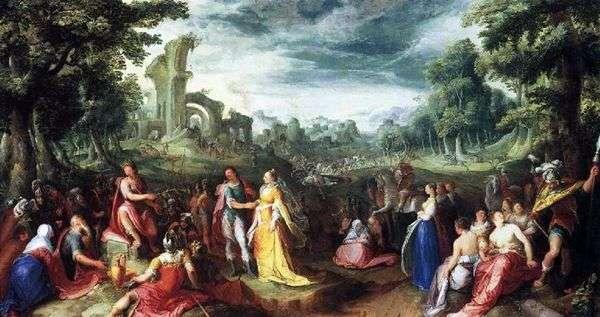 Scipio   Karel van Manderの寛大さ