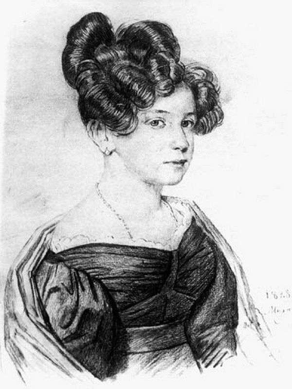 A. A. Olenina   Orest Kiprenskyの肖像
