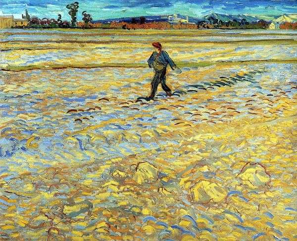 種蒔き   Vincent Van Gogh