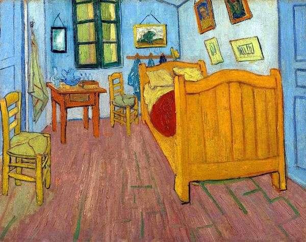 アルルのヴィンセントの寝室(ゴッホの寝室)   ヴィンセントヴァンゴッホ
