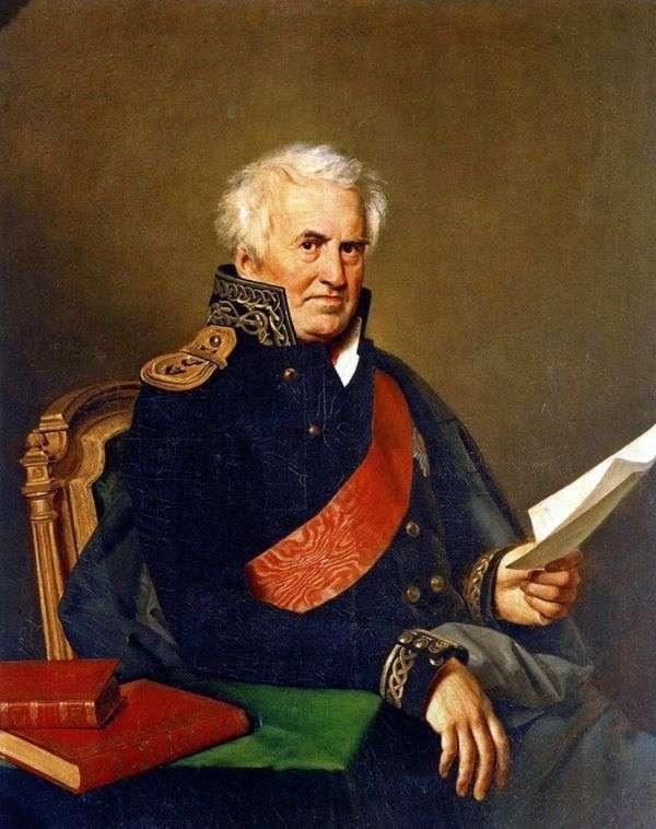 A. S. Shishkov   Orest Kiprenskyの肖像