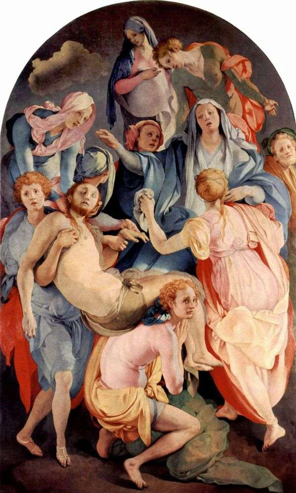 十字架からの降下   Jacopo Pontormo