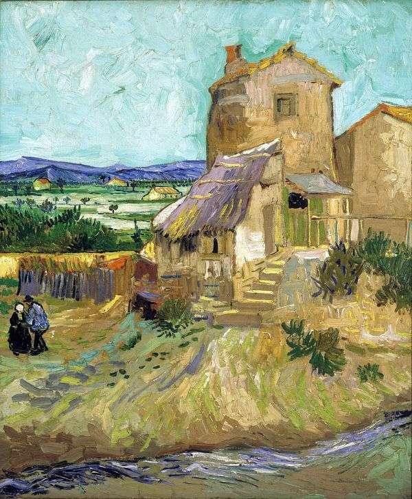 オールドミル   Vincent Van Gogh