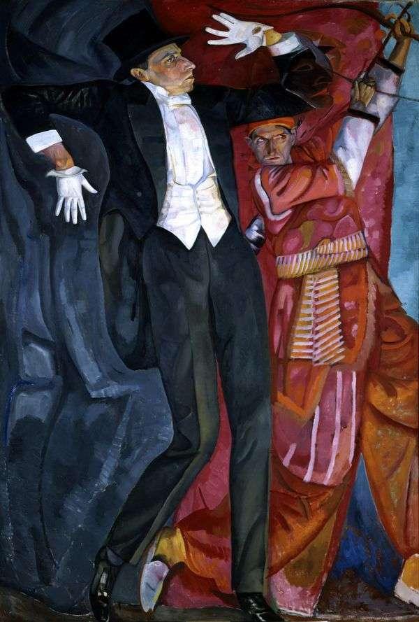 V. E. Meyerhold   Boris Grigorievの肖像画