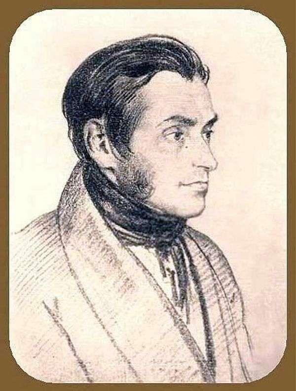 アダムMitskevich   Orest Kiprenskyの肖像