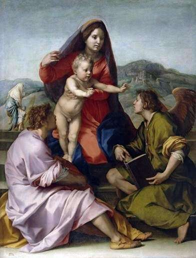 Madonna della Scala   アンドレア・デル・サルト