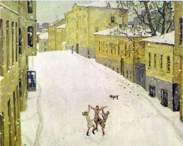 最初の雪   Igor Popov
