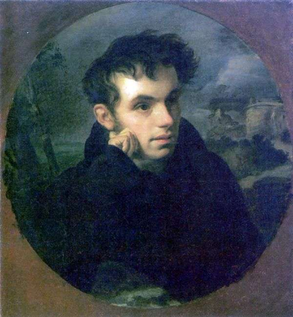 V. A. Zhukovsky   Orest Kiprenskyの肖像画