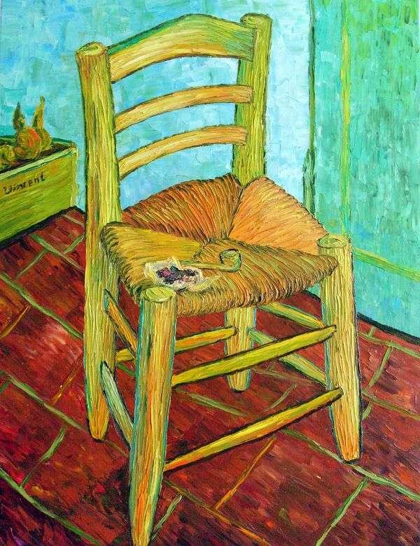 彼のパイプとヴィンセントの椅子   Vincent Van Gogh