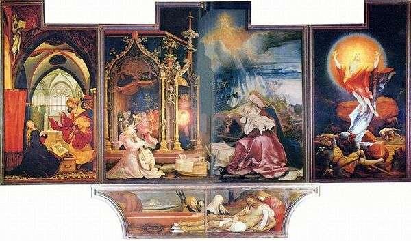 イゼンハイム祭壇、2度目の掃除   Matthias Grunewald
