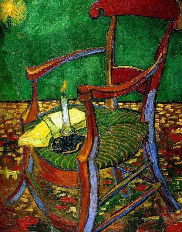 ゴーギャンの椅子   ヴィンセントヴァンゴッホ