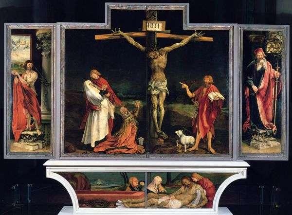 イゼンハイム祭壇、最初の掃引   Matthias Grunewald