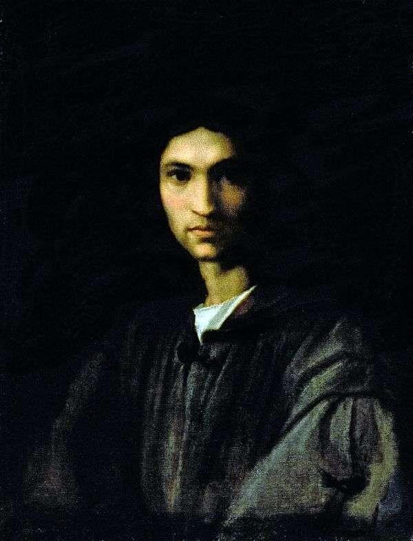 若い男の肖像   アンドレア・デル・サルト