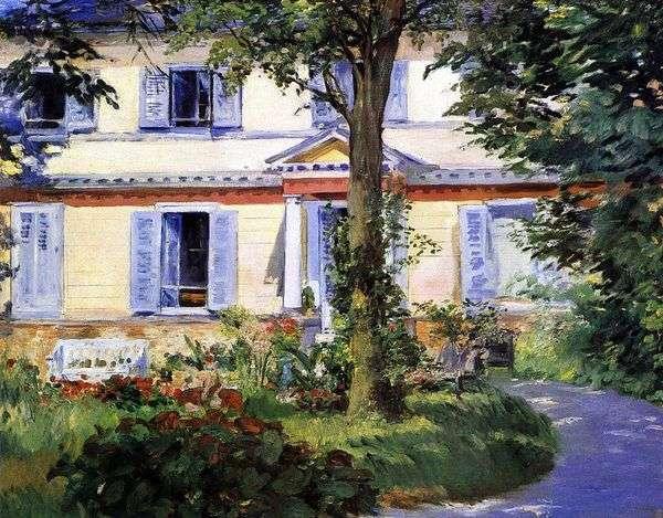 ルエルの家   エドゥアール・マネ