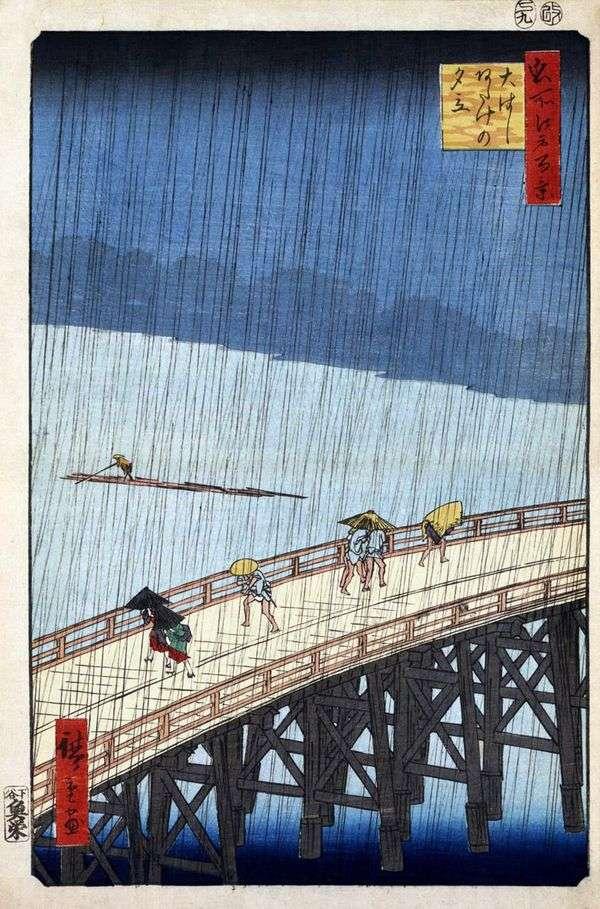 阿竹エリア大橋橋の暴風雨