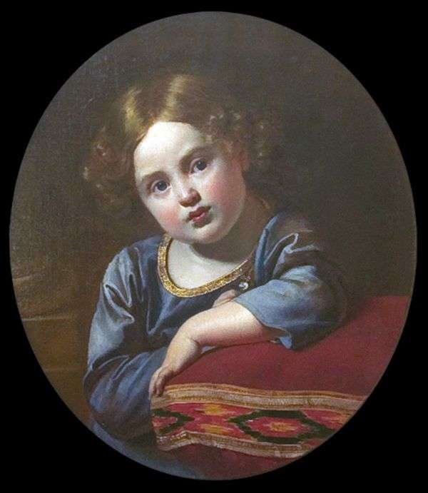 小児期におけるE. G. Gagarinの肖像   Orest Kiprensky