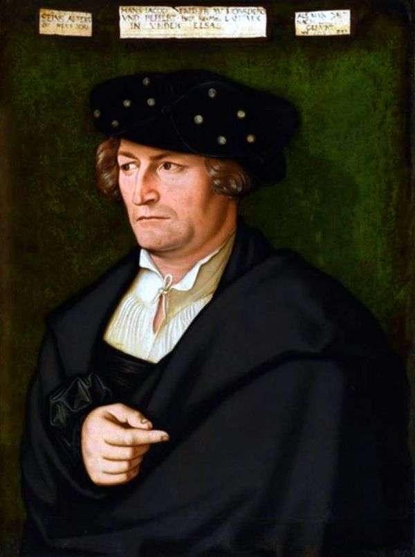 Jacob von Morsperg   Hans Baldungの肖像