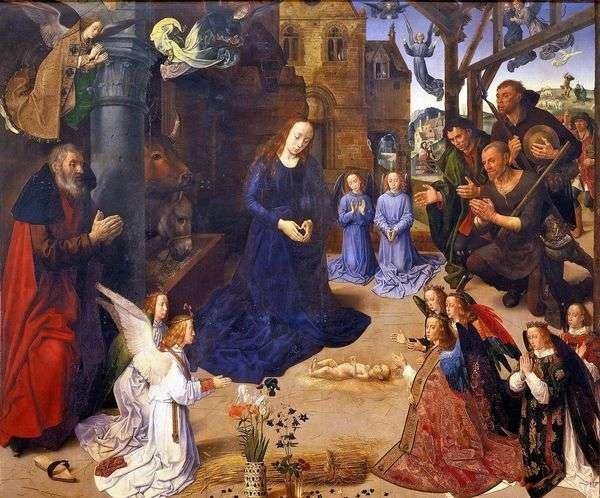 羊飼いの礼拝堂(ポルティナーリの祭壇)   Hugo van der Goes