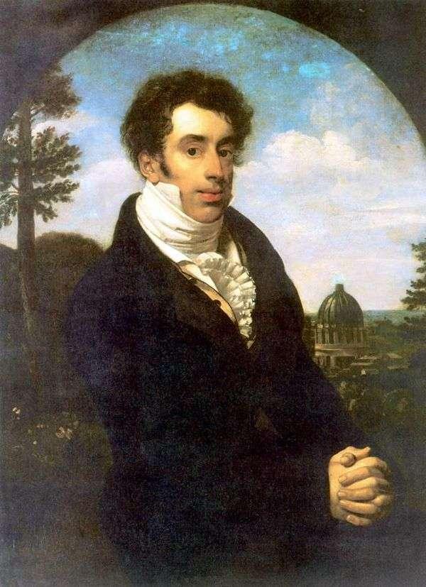 プリンスA. M. Glitsyn   Orest Kiprenskyの肖像