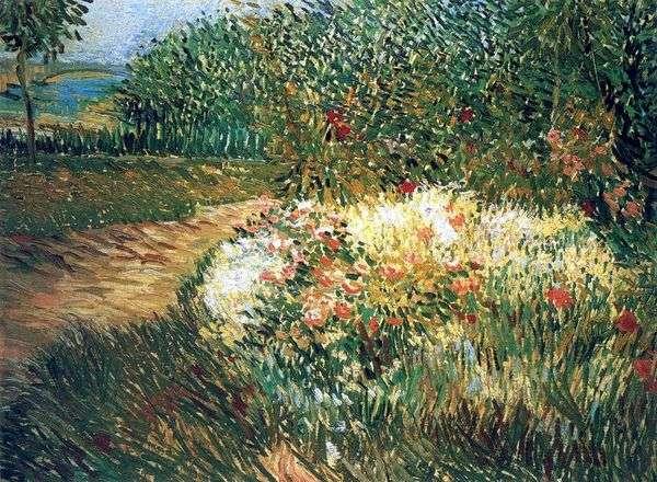 アニエール公園のアルジェンソン公園の角   Vincent van Gogh