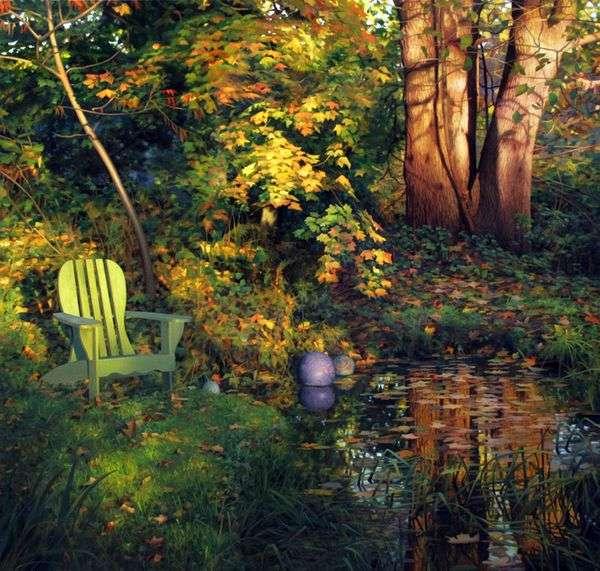 秋の庭   スコットプライアー