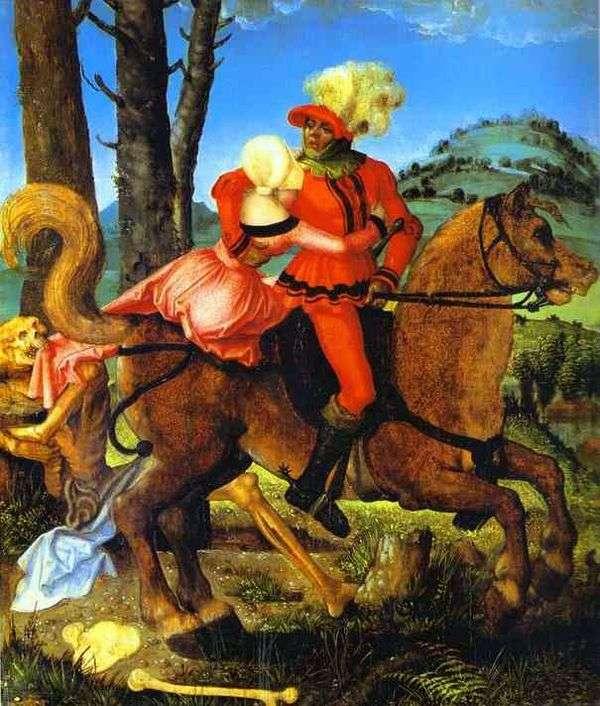 騎士、少女と死   ハンス・バルドゥン