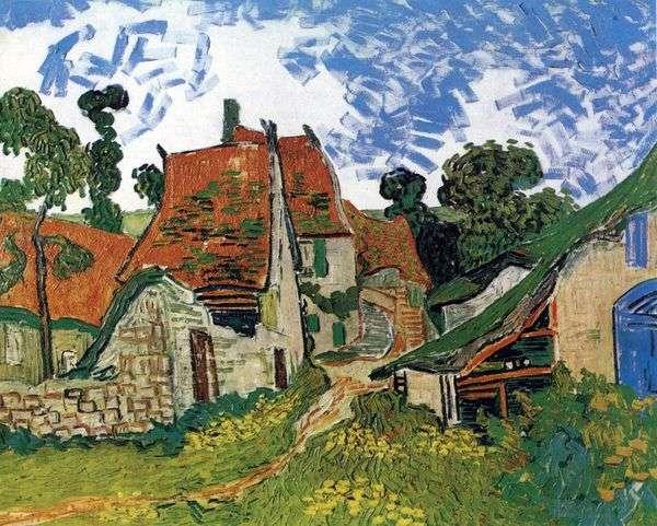オーヴェルの通り   Vincent Van Gogh