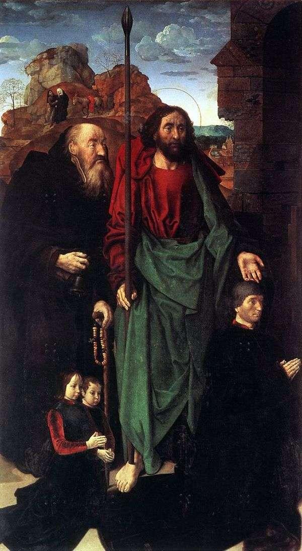 クリスマス(Altar Portinari)左翼   ヒューゴーガス