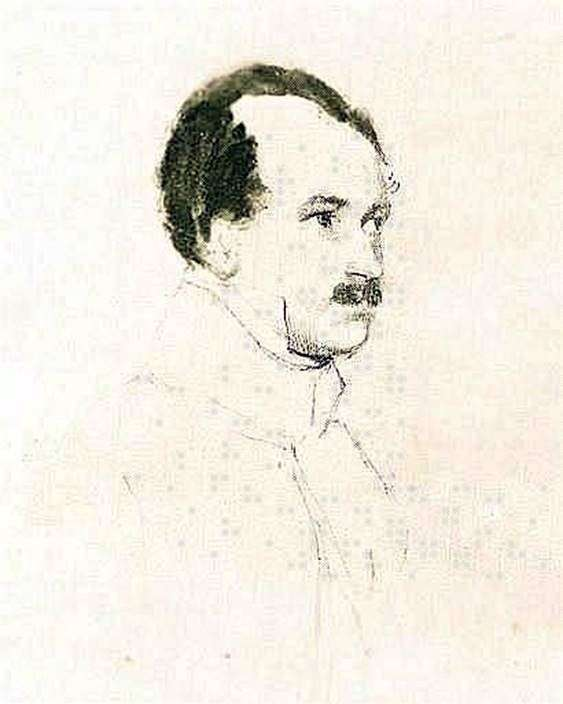 M. F. Orlov   Orest Kiprenskyの肖像
