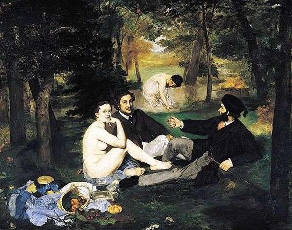 草の上の朝食   Edouard Manet