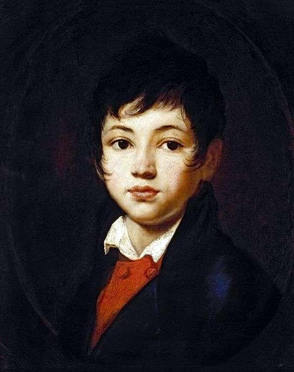 チェリチェフの少年   Orest Kiprenskyの肖像