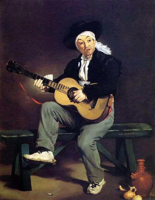 スペインのギター奏者   Edouard Manet