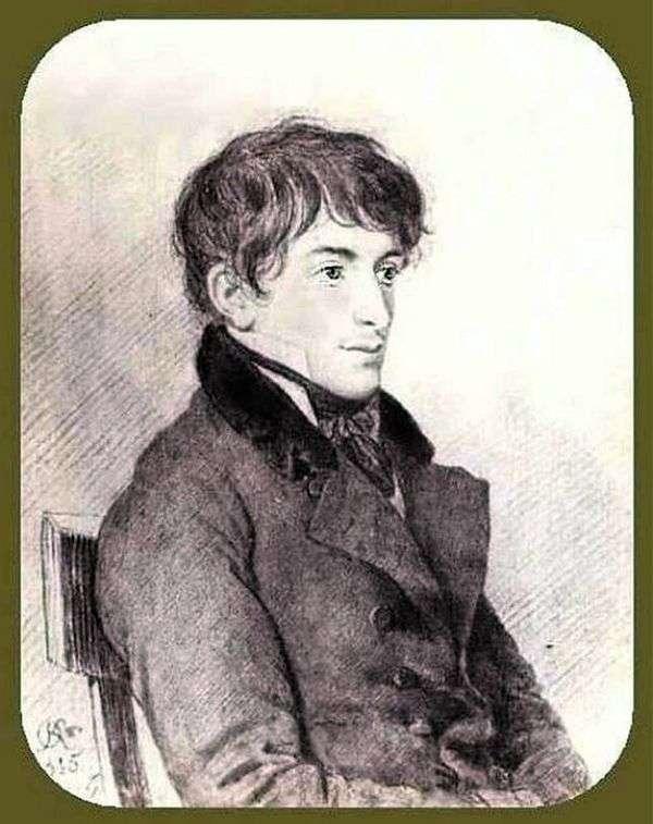 N. Muravyev   Orest Kiprenskyの肖像
