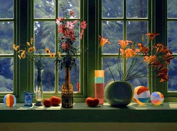 窓辺の静物画   スコット・プライアー
