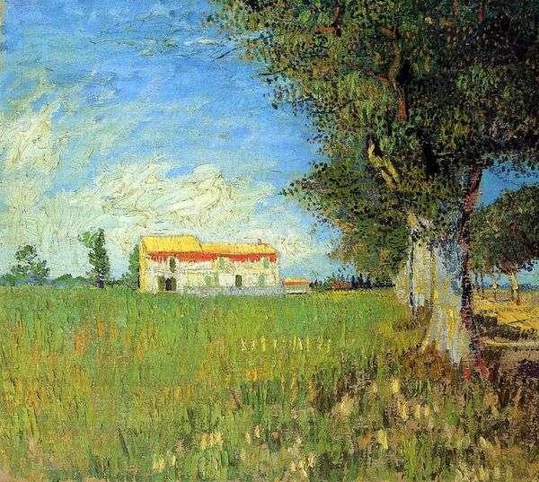 ウィートフィールドファームハウス   Vincent Van Gogh