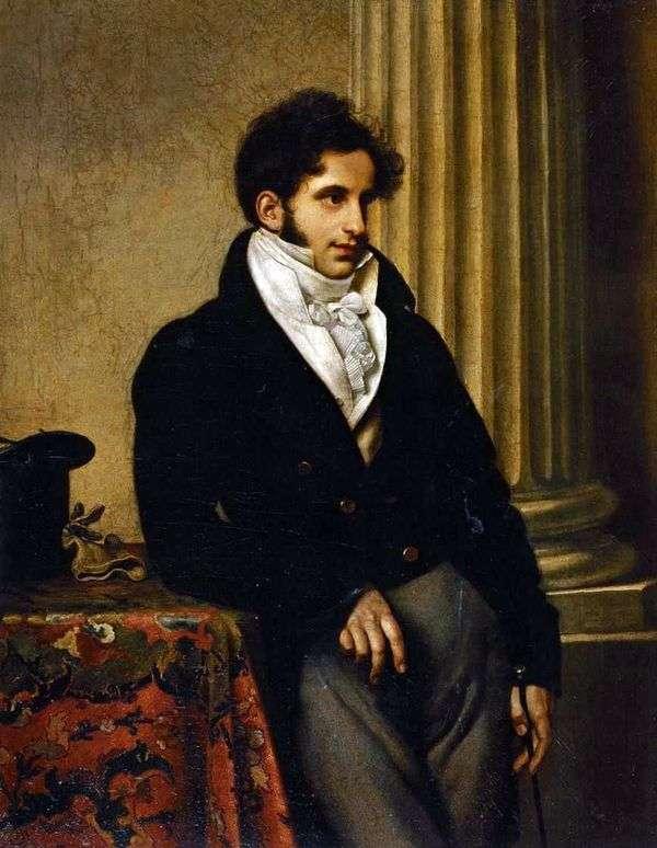 S. S. Uvarov   Orest Kiprenskyの肖像