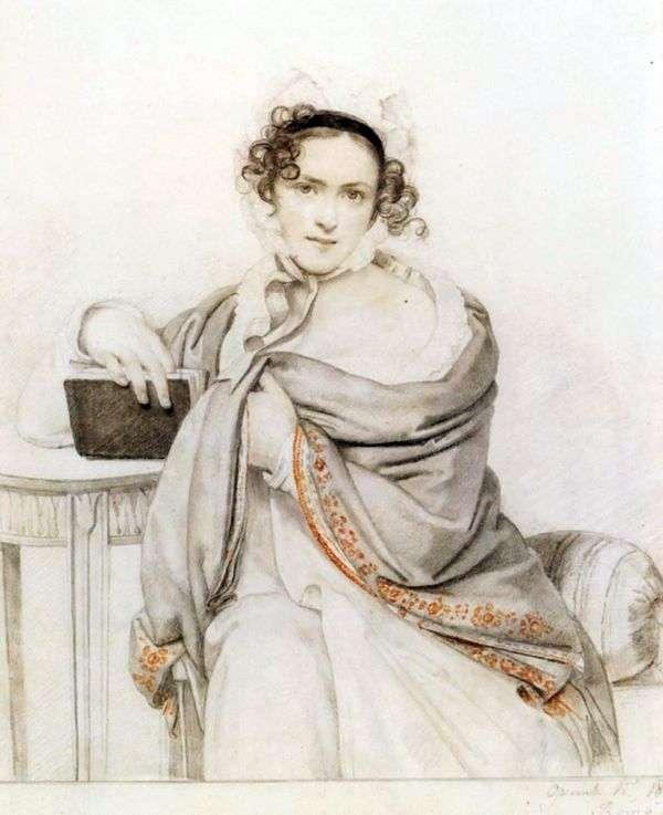 S. S. Scherbatova   Orest Kiprenskyの肖像