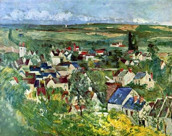 Auvers   Paul Cezanneのビュー