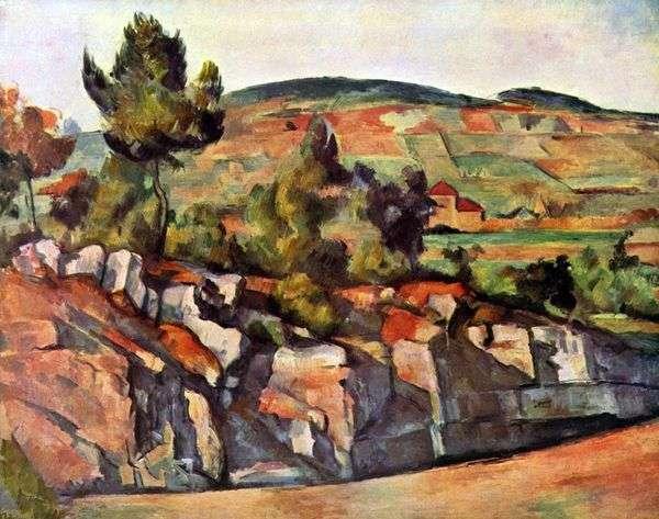 プロヴァンスの山   Paul Cezanne