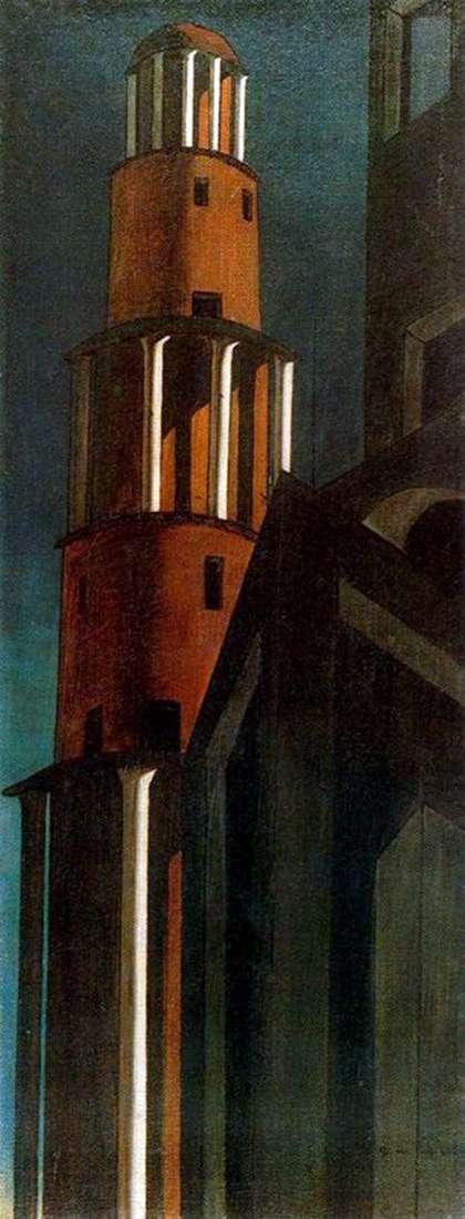 タワー   ジョルジョ・デ・キリコ