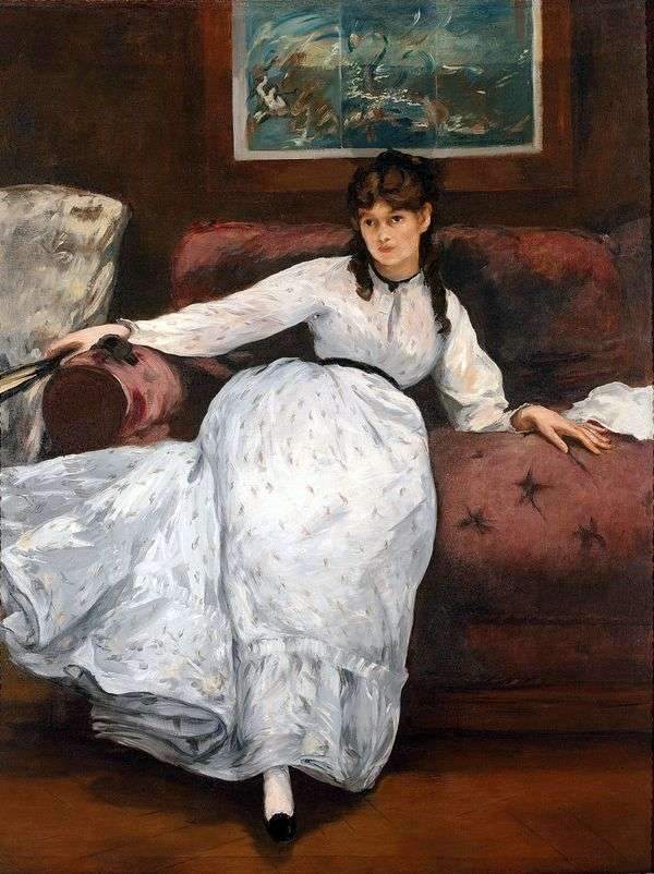 Bertha Morisot   エドゥアール・マネの肖像