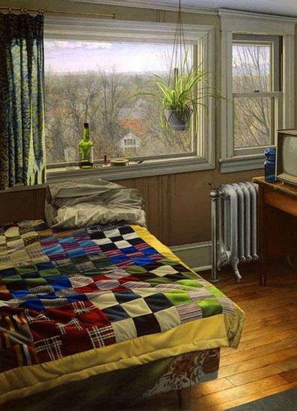 冬の寝室   スコットプライアー