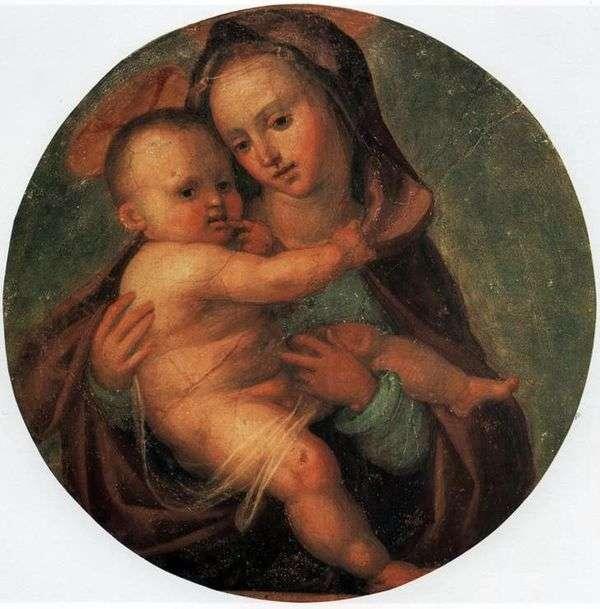 マドンナと子   Fra Bartolomeo