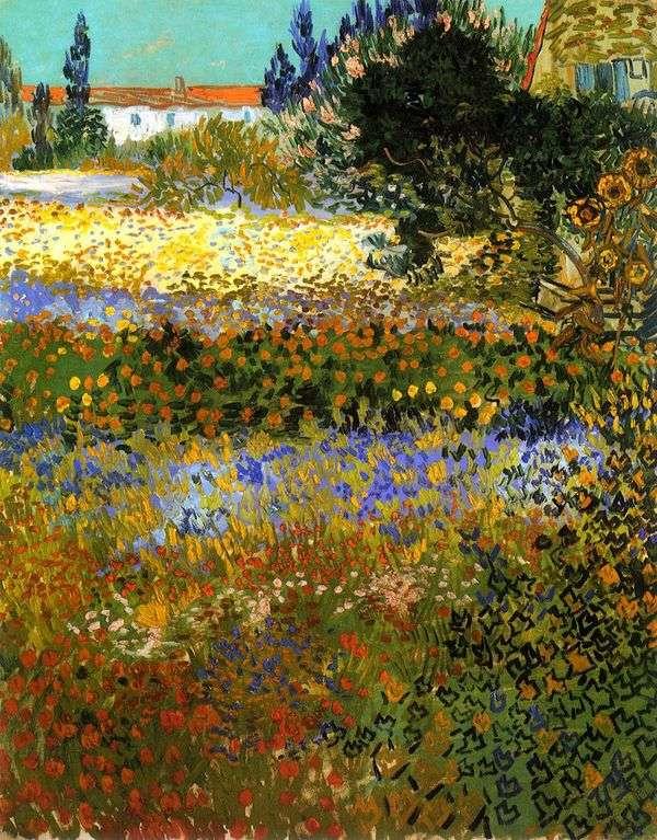 ブルーミングガーデン   Vincent Van Gogh
