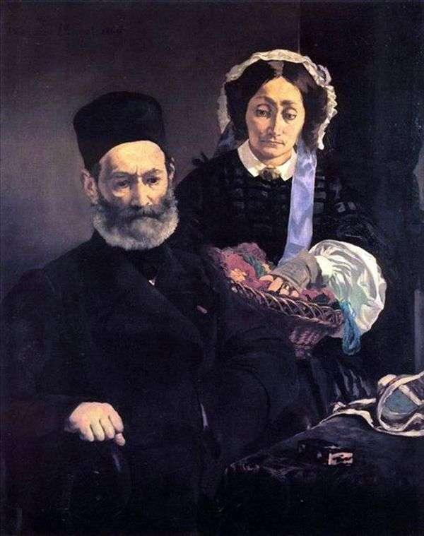 Monsieur and Madame Manet   エドゥアールマネ