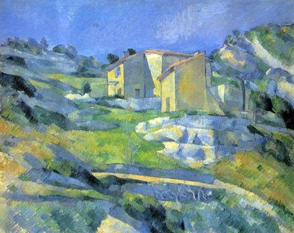 Estak   Paul Cezanneの近くのプロヴァンスの家