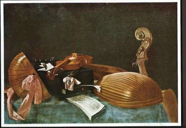 楽器のある静物   Evaristo Baschenis