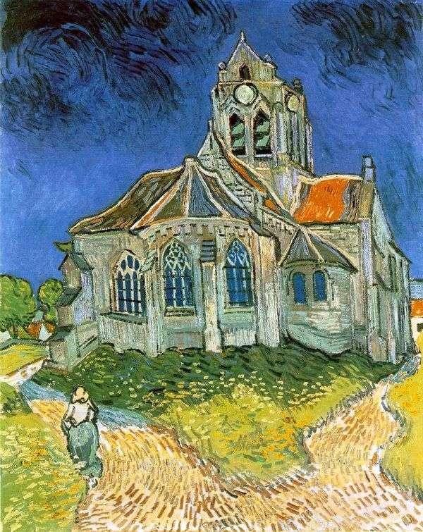 オーヴェルの教会   Vincent Van Gogh