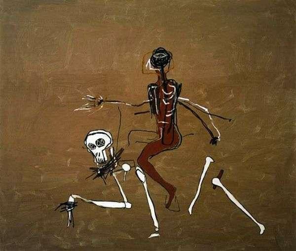 死に乗る   Jean Michel Basquiat