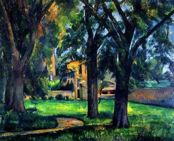 Zha de Buffans   Paul Cezanneの栗と別荘
